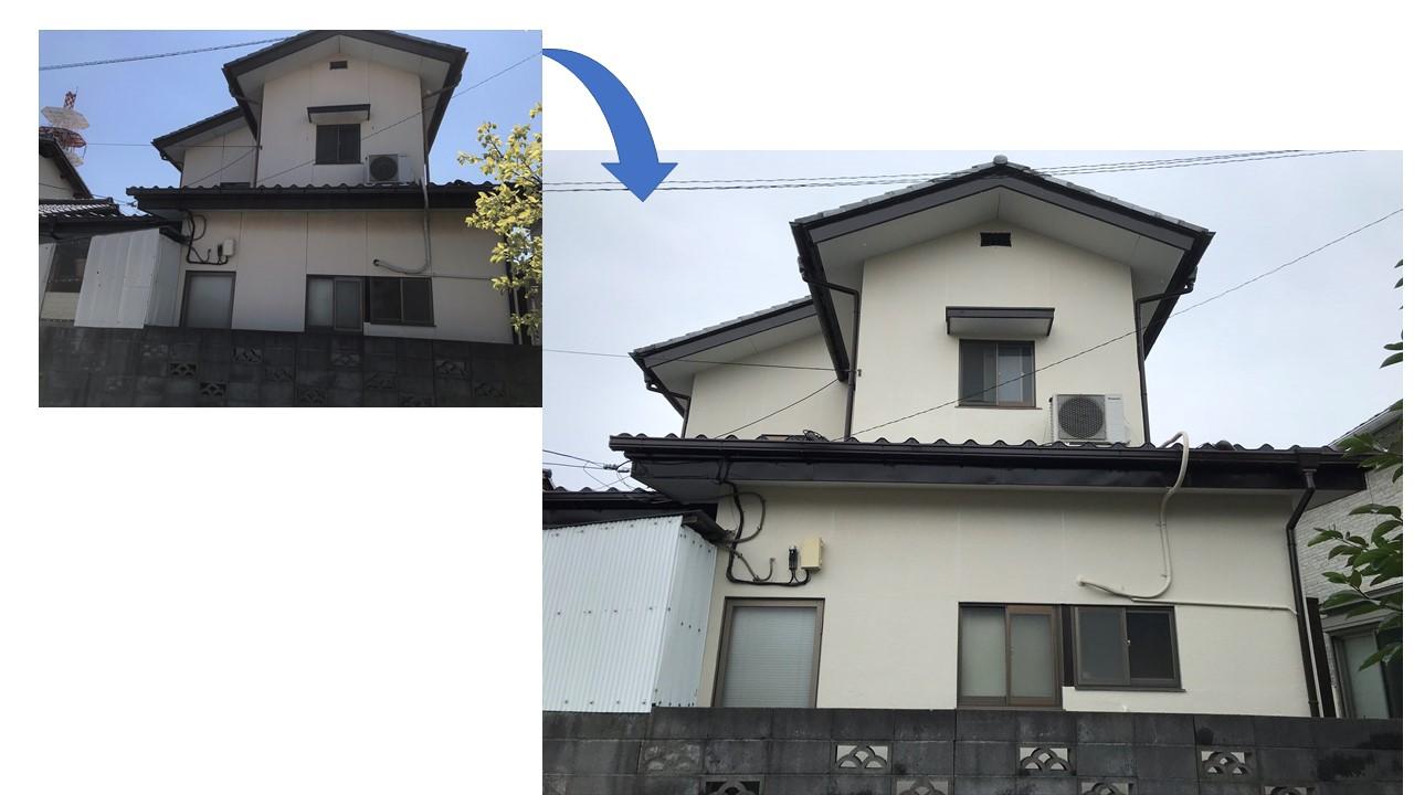 上尾市平方M様邸施工前と後写真