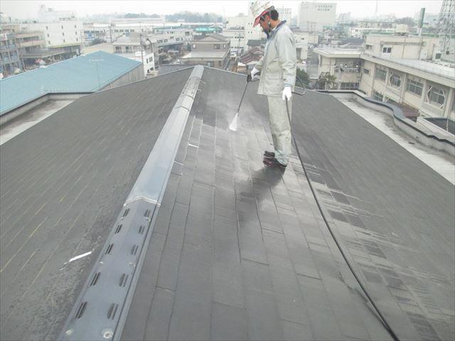 さいたま市北区 Hマンション様 屋根洗浄